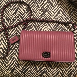 COACH 22729 QUILTED 1941 DINKY CROSSBODY BAG